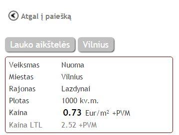 Sandėlių nuomos Vilniuje rinkos analizė