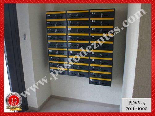 Pašto dėžutės daugiabučiams, montavimas