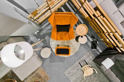 Skandinaviški baldai ir aksesuarai interjere