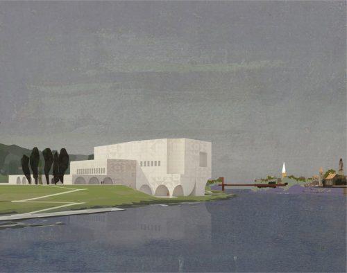 M. K. Čiurlionio koncertų centro Kaune tarptautinį architektūrinį konkursą laimėjo lietuviai
