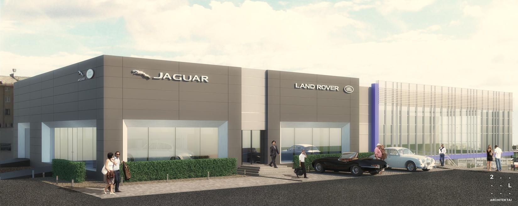 """Vilniuje duris atvers liukso klasės """"Jaguar Land Rover"""" automobilių salonas"""