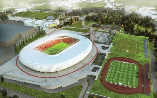 """""""Vilniaus nacionalinis stadionas"""" vizija – modernus ir inovatyvus kompleksas"""