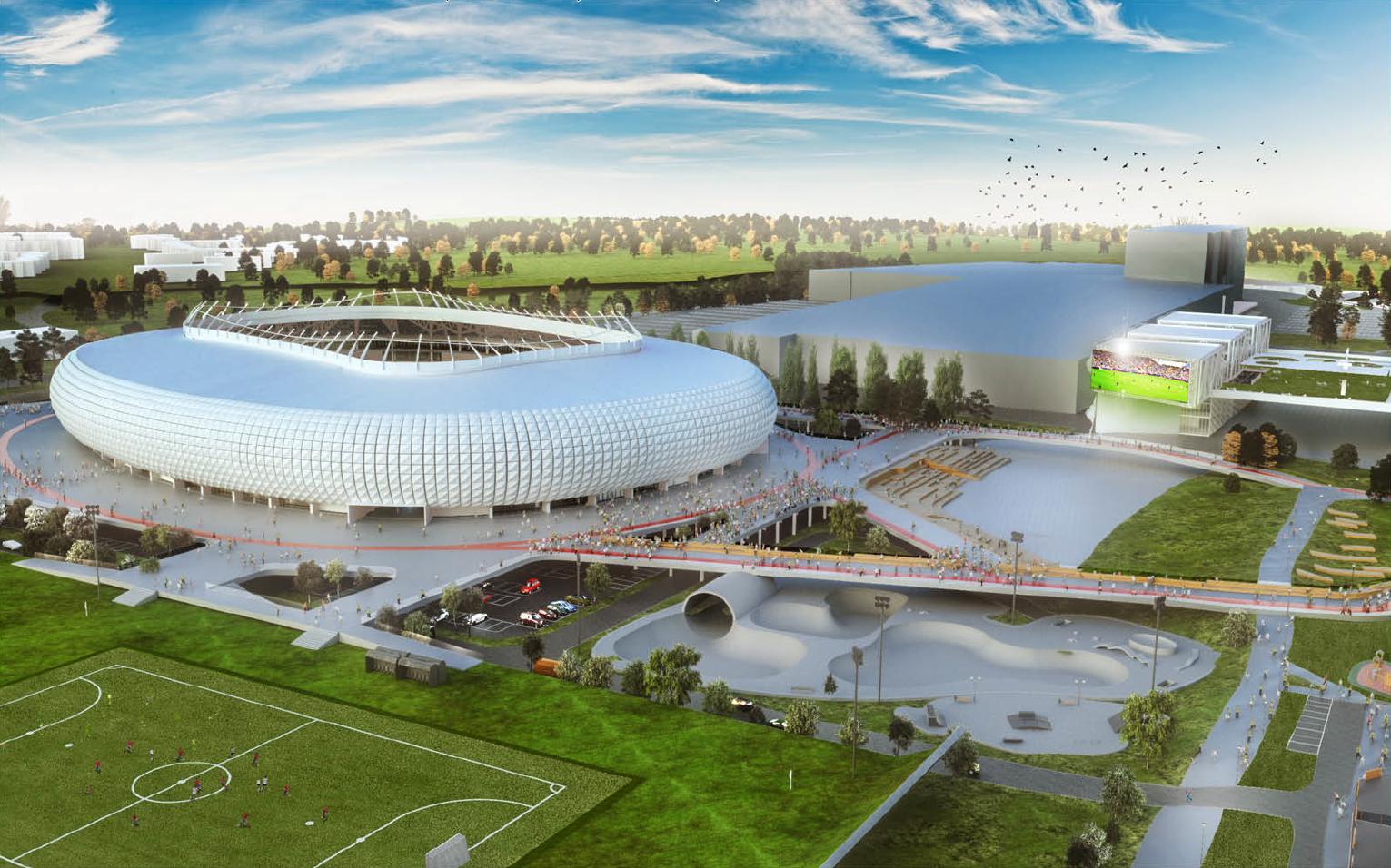 VPT patvirtino klaidas nacionalinio stadiono konkurso sąlygose
