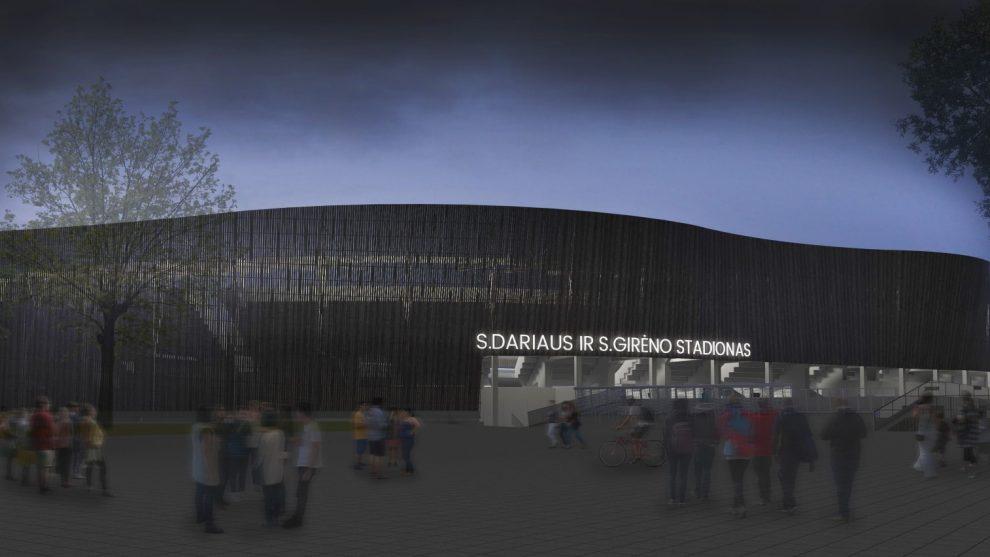 Kliūčių nebeliko: Turkijos kompanija imasi S. Dariaus ir S. Girėno stadiono projekto