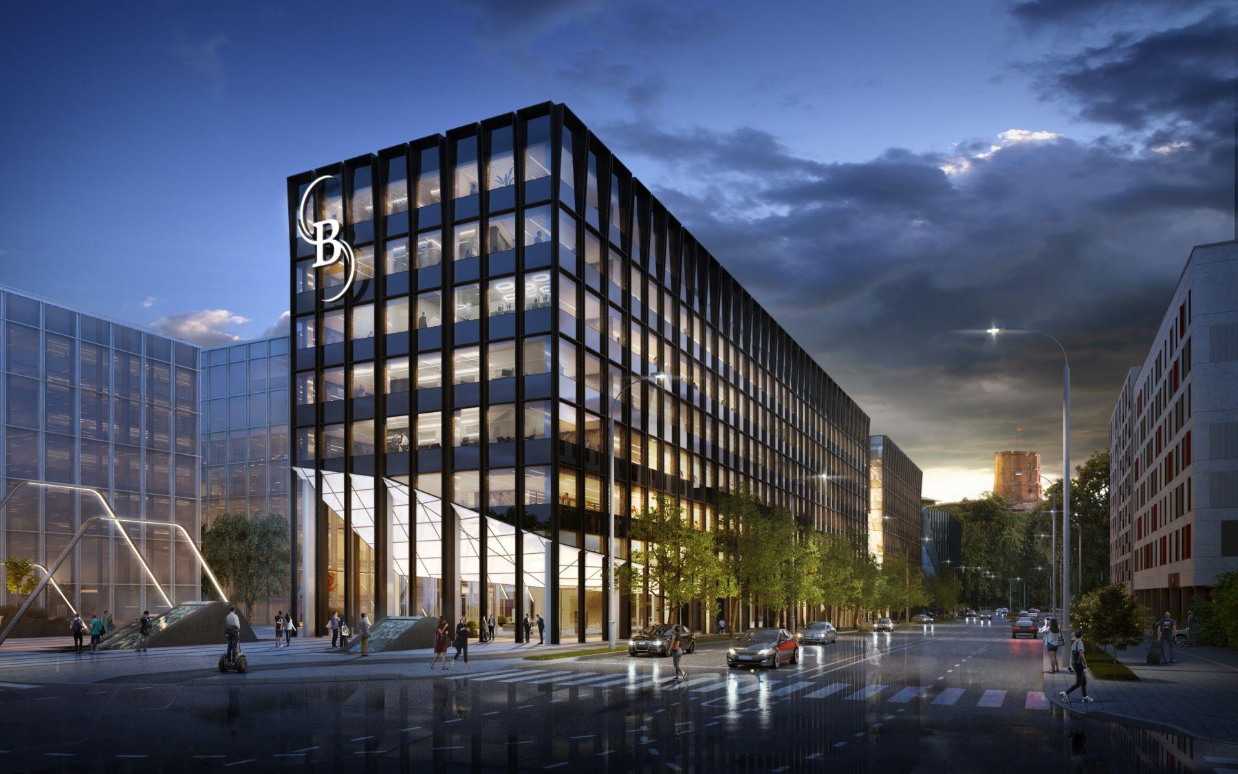 """Prancūzijos bendrovė """"Teleperformance"""" biurą kurs """"Business Stadium West"""" verslo centre"""