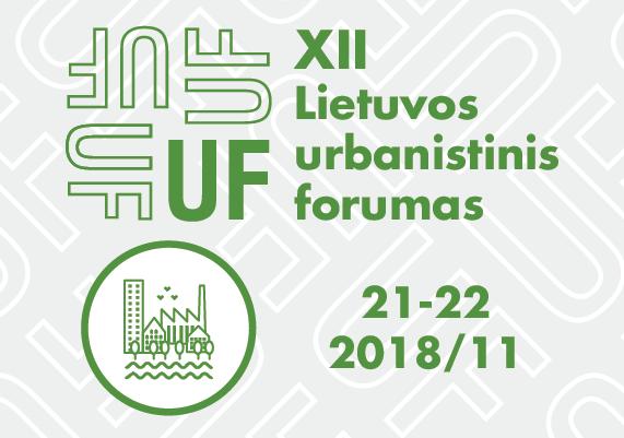 XII-asis Lietuvos urbanistinis forumas kvies mokytis kurti geresnius miestus