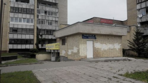 Parduodamos komercinės patalpos Šiauliuose