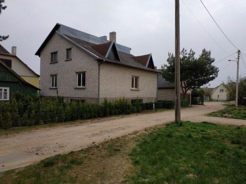 Mūrinis namas su daline apdaila Tauragėje, Daržų g.6