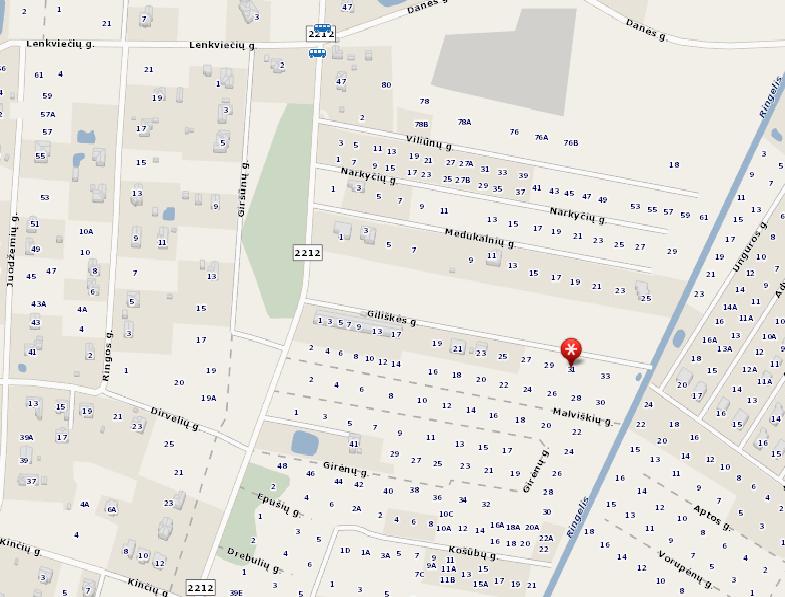 Parduodamas 9,43 arų sklypas Trušeliuose, Giliškės gatvėje