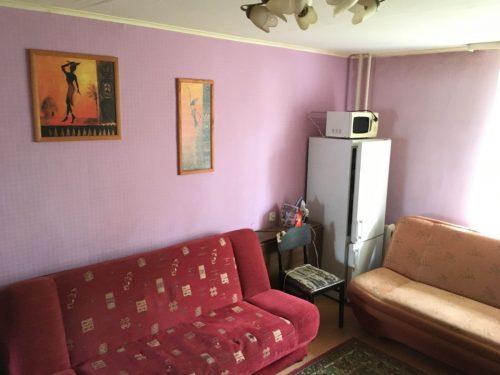 Parduodu  pusę  trijų kambarių buto Naujojoje Vilnioje