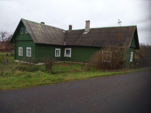Vilniaus r. sav., Gaukštonių k., Gaukštonių g., medinis namas