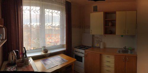 Parduodamas 2 kambarių butas Kuršėnų miesto centre