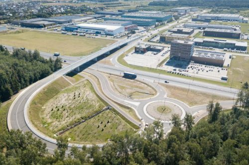 Atidarytas naujasis viadukas, sujungiantis Kauno LEZ teritoriją su A6 keliu