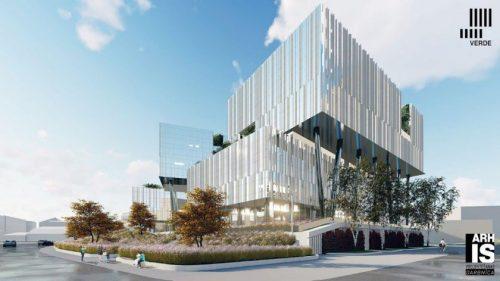 """""""Merks"""" pažeidus biurų komplekso Rygoje """"Verde"""" statybos sutartį, """"Capitalica Asset Management"""" ieškos kito rangovo"""