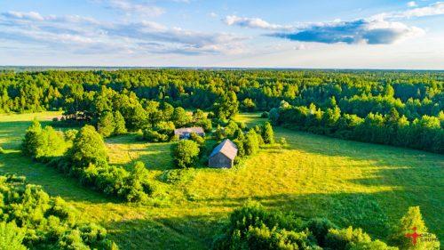 Sodyba su 7,5 ha žemės- galima isigyti dar 7,5 ha zeme su misku