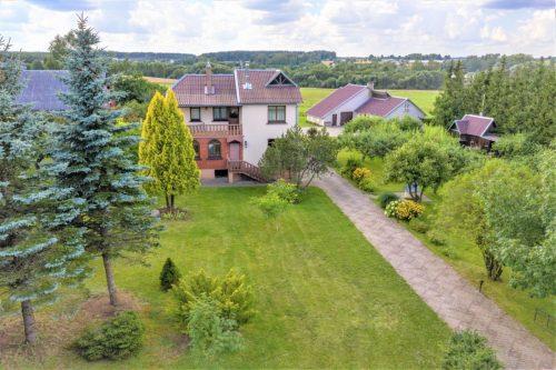 Parduodamas namas, sklypas šalia ežero Moliakalnio g., Svėdasai, Anykščių raj., namas 160 kv.m, 2 aukštai