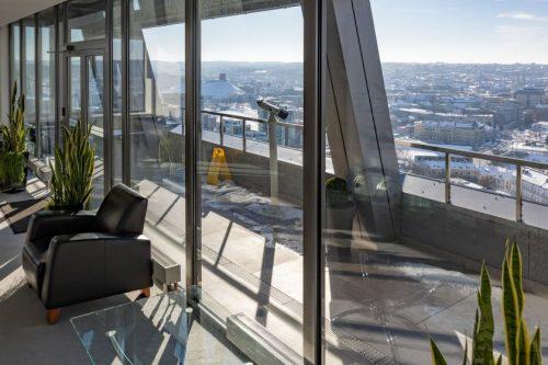 Nuomai siūlomas Vilniaus savivaldybės 20-as aukštas: laimės geriausia veiklos vizija