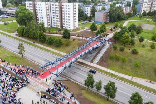 Fotomenininkas A. Reipa užfiksavo kiekvieną Jonavos tilto statybų žingsnį