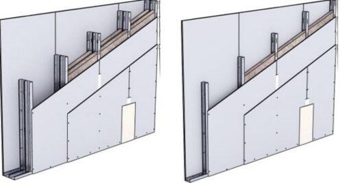 Pilnavertei garso izoliacijai reikalingos daugiasluoksnės konstrukcijos ir kokybiškas montavimas